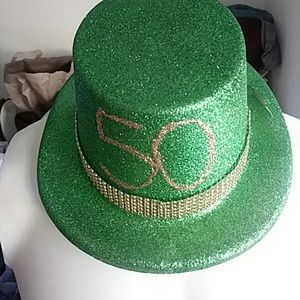 15 Fun Central plastic 50 year old. Hats $20